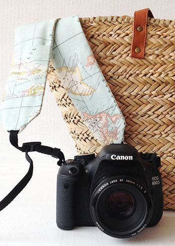 Tutotial: Haz una correa molona para tu cámara