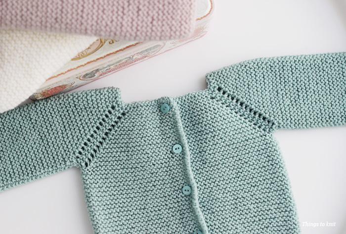 Cómo tejer un jersey básico de bebé